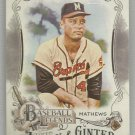 2016 Topps Allen & Ginter Baseball Legends Eddie Mathews (Braves) #BL-25