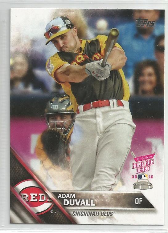 2016 Topps Update Baseball HRD Adam Duvall (Reds) #US68