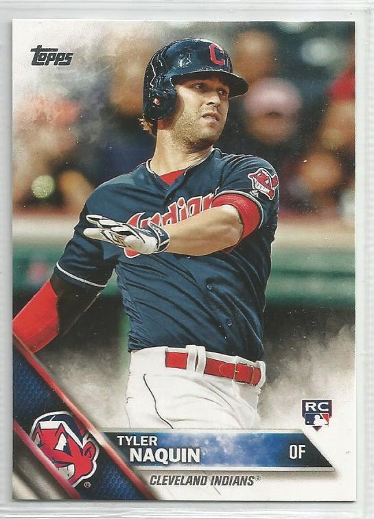 2016 Topps Update Baseball RC Tyler Naquin (Indians) #US117