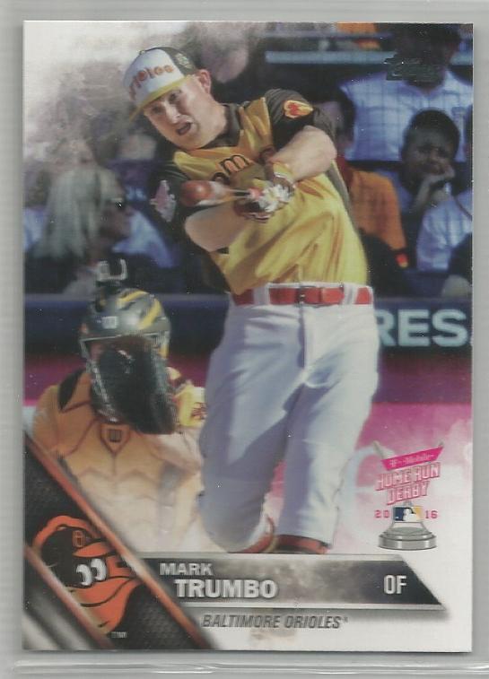 2016 Topps Update Baseball HRD Mark Trumbo (Orioles) #US118