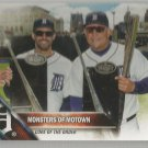 2016 Topps Update Baseball Monsters of Motown (Tigers) #US217