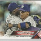 2016 Topps Update Baseball Yankees Keystones (Yankees) #US221