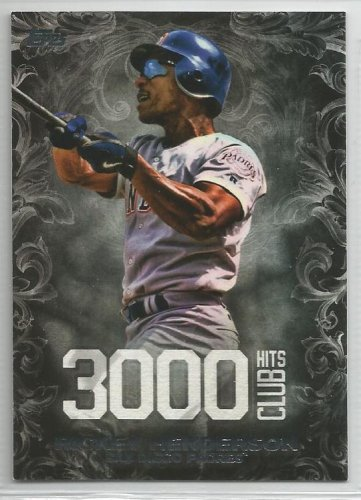 2016 Topps Update Baseball 3000 Hits Club Rickey Henderson (Padres) #3000H-15