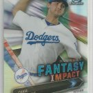 2016 Bowman Draft Picks & Prospect Chrome Scouts Fantasy Impact Chase De Jong (Dodgers) #BSI-CD