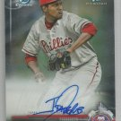2017 Bowman Chrome Certified Autograph Jose Taveras (Phillies) #CPA-JT