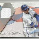 2017 Topps Baseball Material Relic Jersey Troy Tulowitzki (Blue Jays) #MLM-TT