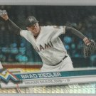 2017 Topps Chrome Baseball Prizm Brad Ziegler (Marlins) #193