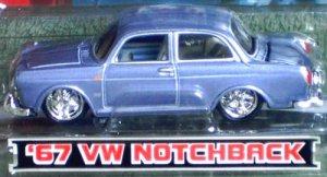 Maisto G-Ridez 1/64 Scale Diecast 1967 Volkswagon Notchback