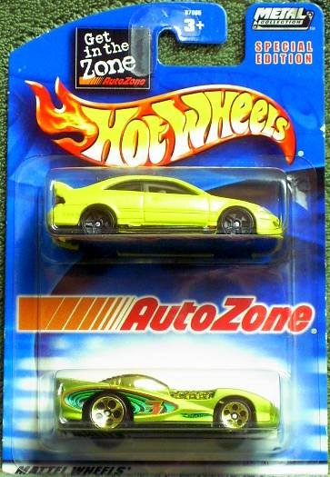 2002 Hot Wheels Special Edition Auto Zone 2 pk.