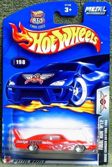 "2003 Hot Wheels ""Final Run"" Dodge Charger Daytona #4 of 12 in Series"