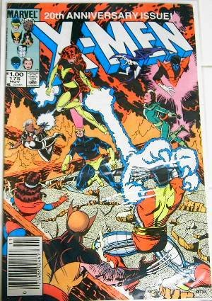 "November 1983 Marvel Comics ""X-Men"" #175 Special 20th Anniversary Issue"