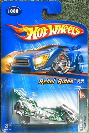 "2004 Hot Wheels ""Rebel Rides""  Fright Bike 5 of 5 in Series"