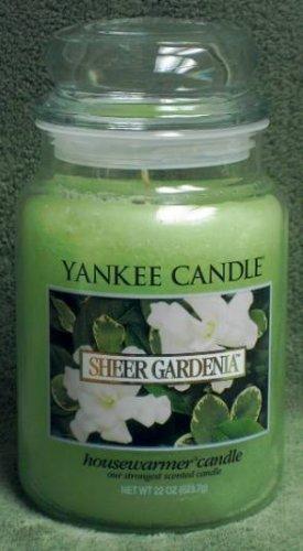 "Yankee Candle ""Sheer Gardenia"" 22oz. Housewarmer Candle"