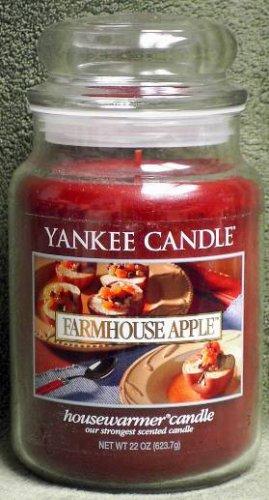"Yankee Candle ""Farmhouse Apple"" 22oz. Housewarmer Candle"