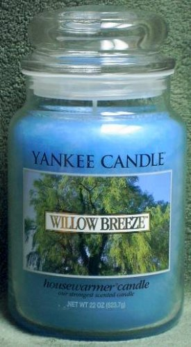 """Yankee Candle """"Willow Breeze"""" 22oz. Housewarmer Candle"""