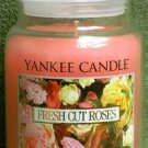 "Yankee Candle ""Fresh Cut Roses"" 22oz. Housewarmer Candle"