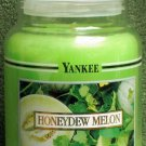 "Yankee Candle ""Honeydew Melon"" 22oz. Housewarmer Candle"