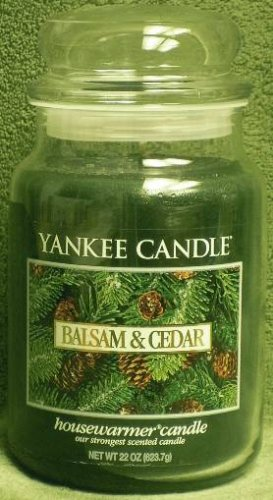 "Yankee Candle ""Balsam & Cedar"" 22oz. Housewarmer Holiday Candle"