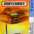 2008 Matchbox Heritage Classics Series 69 Cadillac Sedan Deville #2 Gold