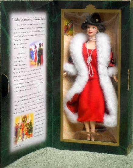 "1997 Hallmark ""Holiday Voyage"" Special Edition Barbie Doll"