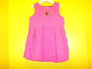 TODDLER GIRLS DRESS SZ 2 T! CORD JUMPER! RALPH LAUREN