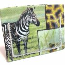 Clear Pocket ATM - Debit - Credit - ID Card Badge Holder - Wild Animals