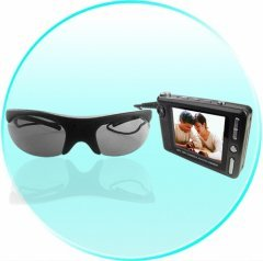 Sunglasses Spy Camera with Video Recorder