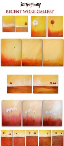ORIGINAL ART SUBSCRIPTION... 3 painting +MORE
