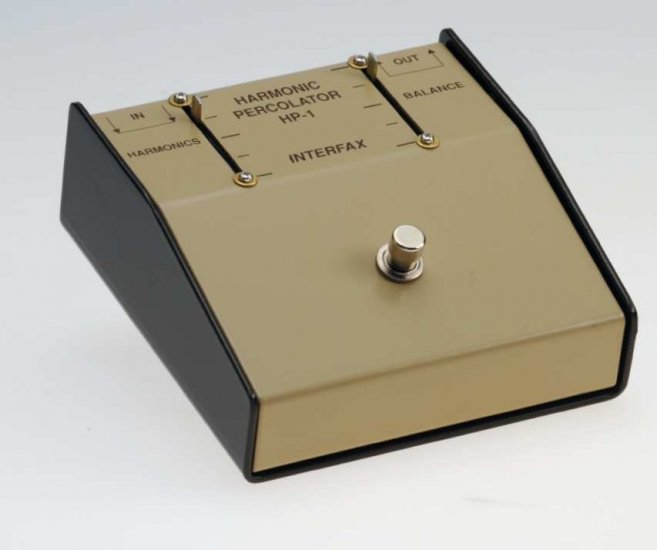 Harmonic Percolator ® INTERFAX fuzz Germanium HP-1
