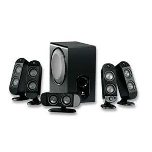 Logitech - X-530 5.1 Speaker System