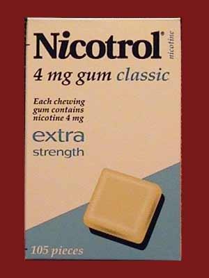 NICOTROL NICOTINE 4MG GUM CLASSIC - 2 Boxes