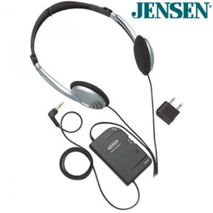JENSEN® NOISE CANCELING STEREO HEADPHONES
