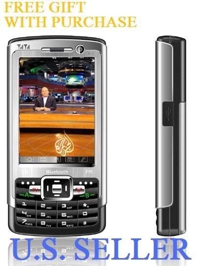 New N99i Quadband TV   Dualsim Dual Camera Dual Bluetooth  Unlocked + 2 GB TF