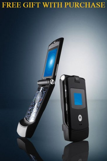 Motorola Razr V3 Unlocked GSM Quadband Bluetooth Camera