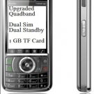 A008 Upgraded  Quadband Unlocked Dual Sim Dual  Standby Touch Screen Bluetooth FM  1 GB TF MP3/MP4