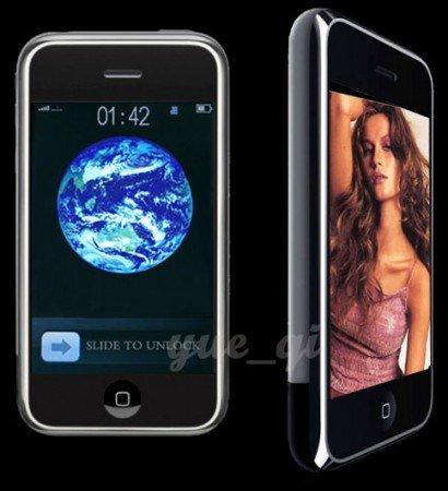 i68 Quadband, Unlocked, Dual Sim, JAVA, FM, Bluetooh, MP3/MP4, 2G TF i9 style