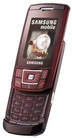 SAMSUNG SGH-D900 RED QUADBAND UNLOCKED BLUETOOTH MOBILE PHONE 1G TF
