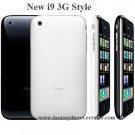 New i9 3G Style GSM DUAL SIM Active JAVA Quadband Unlocked Cell Phone + 2G TF