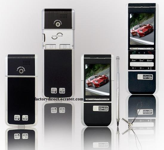New M9+ (Black) Triband DUAL SIM FM Touch Screen Unlocked Cell Phone + 1GB TF