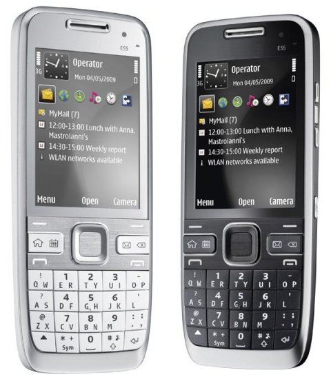 E55 Dual sim Quadband TV Unlocked  Cell Phone 2G TF Nokia E55 Style