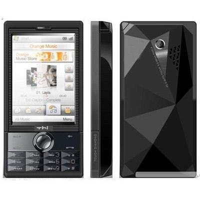 A5000 Quadband Dual Sim TV Touch Screen  FM Unlocked Cell Phone 1GB TF HTC Diamond & T728 Style