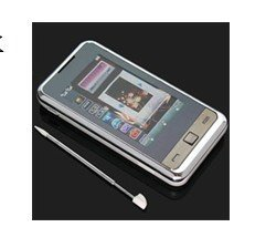 New I900s mobile phone with dual sim card dual standby Quad Band  TV function