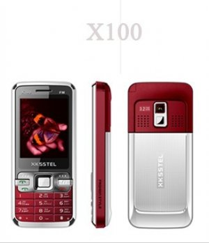 New X100 Quad band Dual Sim Standby Touch Screen Unlocked Cell Phone 1GB. TF