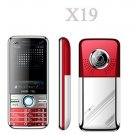 New X19 Quad band Dual Sim Standby Touch Screen Unlocked Cell Phone 1GB. TF