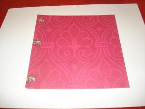 Handmade booklet Journal