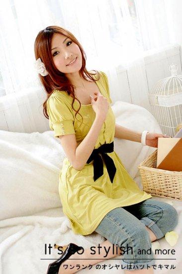 Neckline dress (D8844)