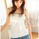 Chiffon mix cotton spagh (T8848)