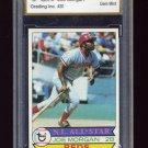 1979 Topps Baseball #20 Joe Morgan - Cincinnati Reds Graded FGA Gem Mint 10