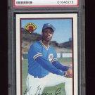 1989 Bowman Baseball #220 Ken Griffey Jr. RC - Seattle Mariners Graded PSA NM-MT 8