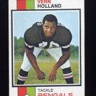 1973 Topps Football #62 Vern Holland - Cincinnati Bengals
